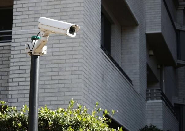防犯カメラの設置と法律との関係